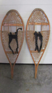 Vintage Browning Snowshoes ideal Christmas gift for wall / trail