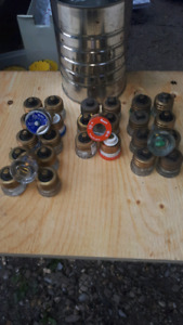 Glass fuses used and new