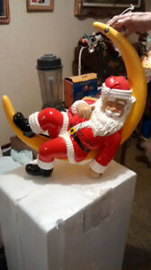 Santa sleeping on the moon Windsor Region Ontario image 2