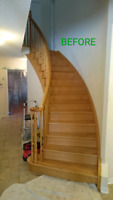 PROFESSIONAL STAIRS REFINISHING!