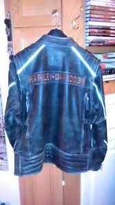 Jacket en cuir harley Davidson