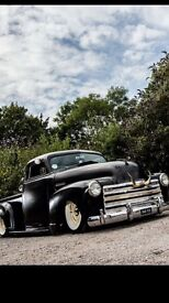 1949 Chevy truck rat look on air ride