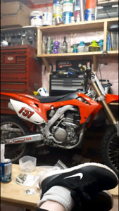 2015 crf250r up for trades