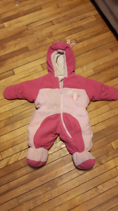 0 to 9 months snow suit