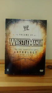 Wrestlemania DVD IV complete anthology 2000-2004