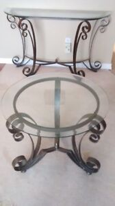 Console table and two end tables