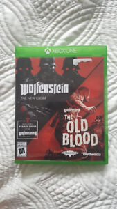 CHRISTMAS GIFT: XBOX ONE WOLFENSTEIN : THE NEW ORDER / OLD BLOOD