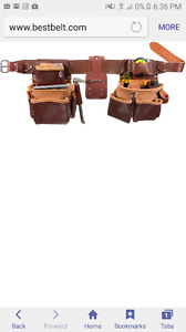Occidental pro framers tool belt