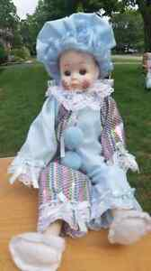 Porcelain  faced doll London Ontario image 1