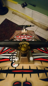 Brand new Real deck and thunder trucks