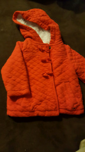 Baby girl Tommy Hilfiger fall jacket 6-9M