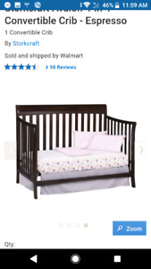 Stork craft crib