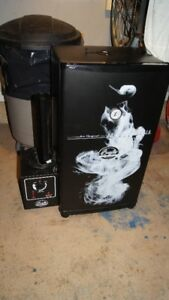 BRADLEY 4 RACK SMOKER AS NEW CONDITION USED 2 or 3 times