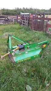 John deere bush cutter 413
