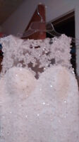 250.00 Wedding dress never worn