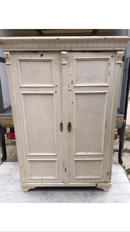 Fantastic French Double Door Cupboard Larder Wardrobe