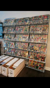 HUGE COLLECTIONS OF SILVER AGE MARVEL, DC COMICS, KEYS CGC!!