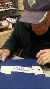 JOHNNY BOWER SIGNED JERSEY'S