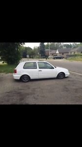 1996 Volkswagen Golf GTI bagged, $4000 without airride