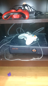 Xbox360 with games Kinect and controllers