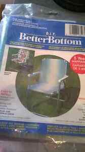 Chair Cover Replacement BETTER BOTTOM 2 available London Ontario image 1
