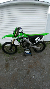 Kxf250 2011 injection