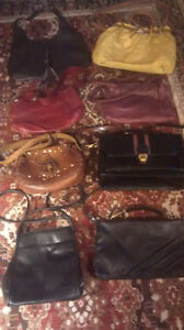 COLLECTION OF HIGH END PURSES