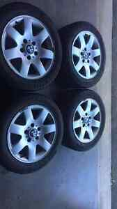 Winter tires and rims for sale Kitchener / Waterloo Kitchener Area image 3