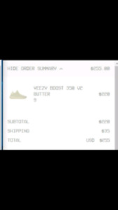 2 Yeezy boost 350 v2 butter size 9