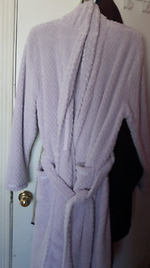Women's purple/lilac bathrobe size xl