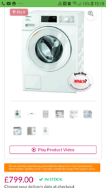 miele washing machine 8kg