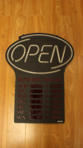 Fully Electronic Open Sign PRISTINE Condition