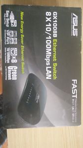 ASUS 8 Port Fast Ethernet Switch
