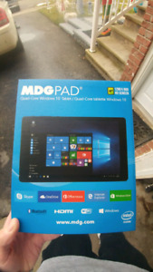"""MDG pad tablet 8"""" with windows 10 brand-new in box"""