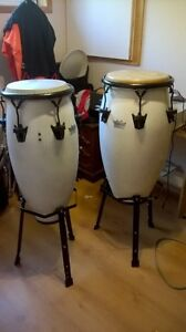 Congas REMO + stands LP