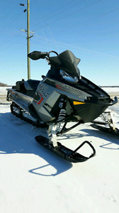Looking to trade a snowmobile for a truck
