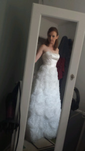 Paloma Blanca Wedding Dress - Size 8