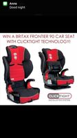 Britax Frontier CT (click tight) booster/ car seat