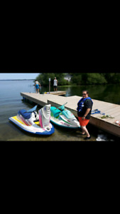 Seadoos for sale with or without trailer.will trade for 3 seater