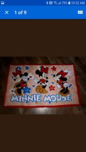 Minnie Mouse Baby Blanket from Smoke Free Home