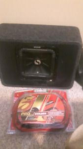 Sub with amp and kit