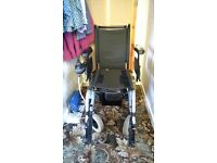 Invacare mirage electric wheelchair