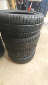 4 Pirelli Sottozero winter 245/45r19