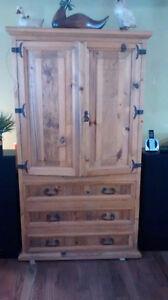 armoire tv en bois