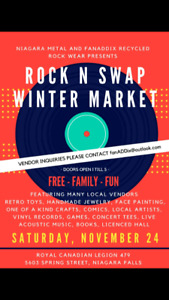 Rock n Swap Winter Market