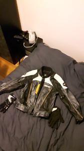 Manteau de moto can-am