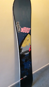 reduced to sell!!!! RIDE 150 snowboard