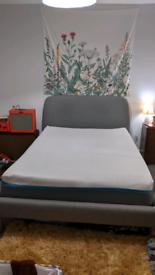 Double Simba mattress and bedframe