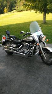 2000 Yamaha Road Star Motorcycle
