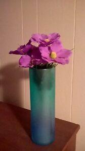 Ikea glass flower vase